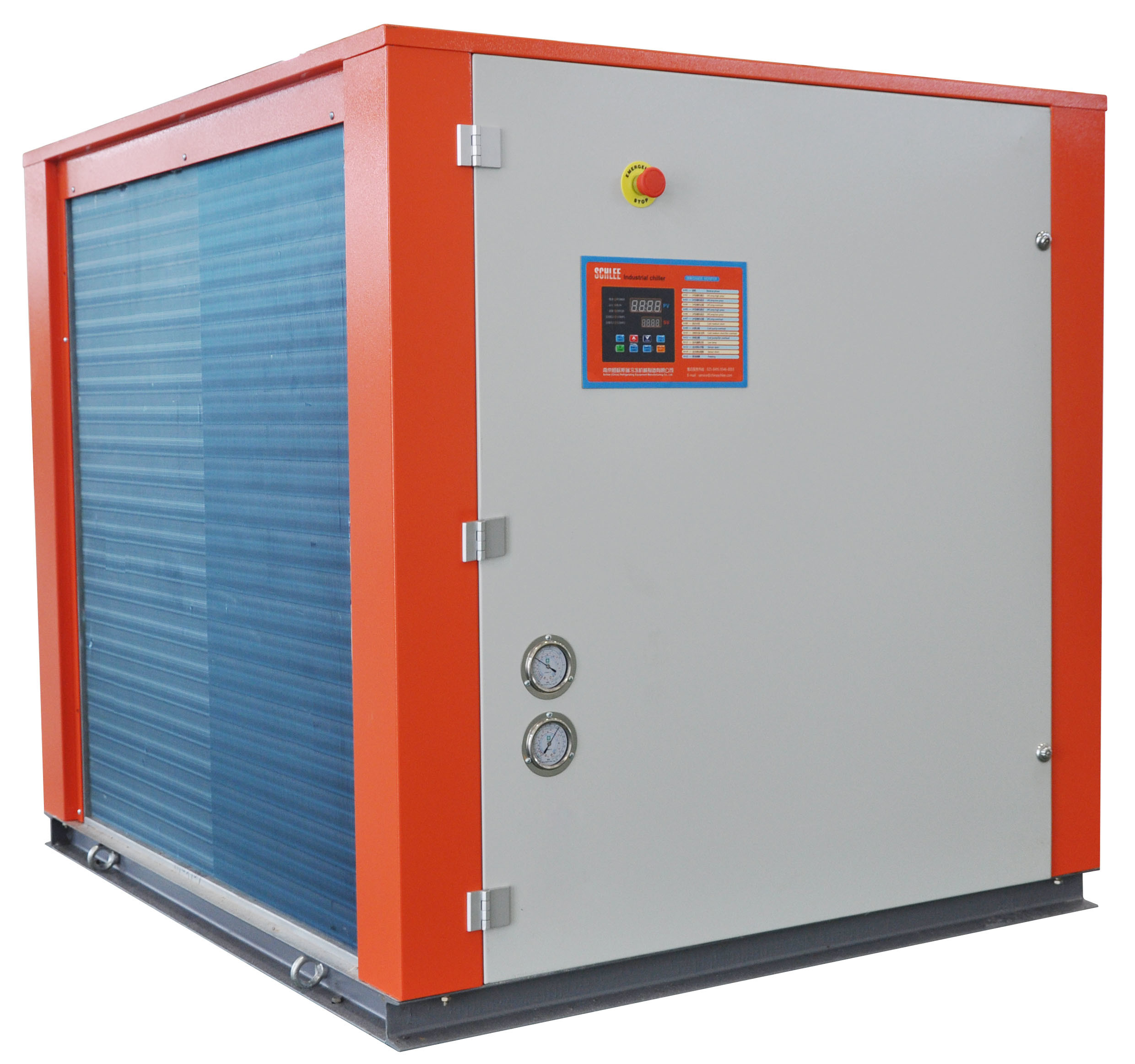 7.8kw Industrial Air Cooled Water Chillers with Scroll Compressor for Beer Fermentation Tank