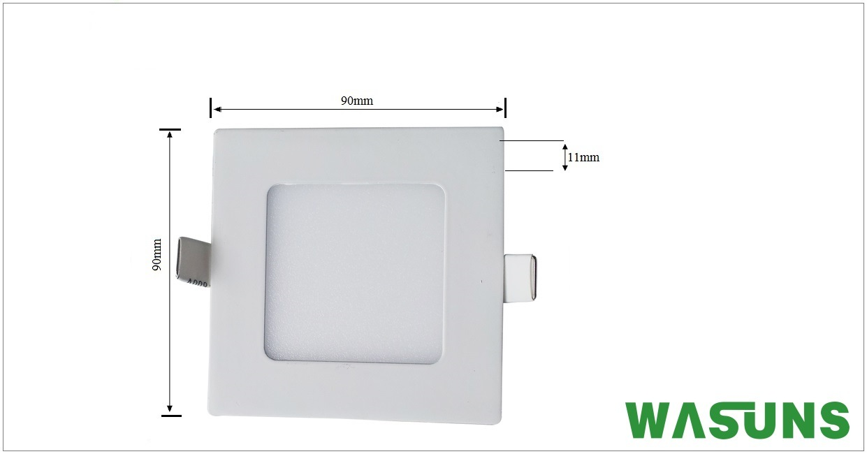 Square Shape Ultra Slim LED Lighting Panel Light