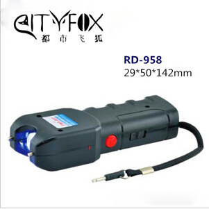 Police Self-Defense Electrci Shocker High Power Taser /Mini Lipstick Stun Gun (RD-028)