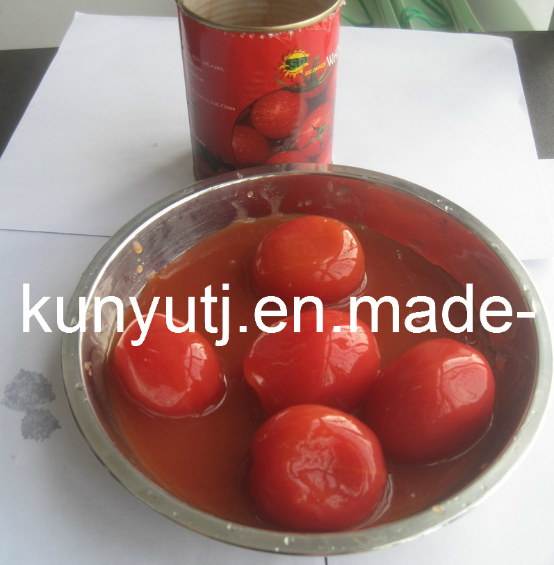 Whole Peeled Tomato in Tin