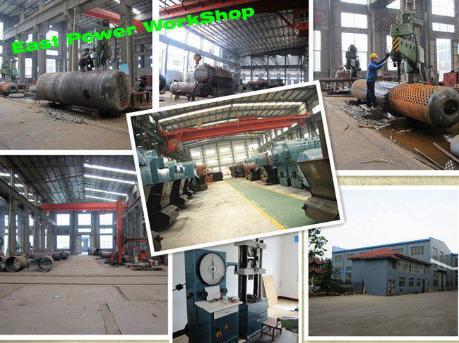 Oil Gas or Coal Biomass Fuel Fired Industrial Steam Boiler (0.5-135 T/H)