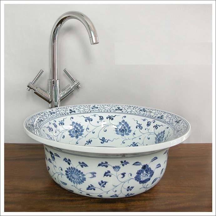 Wash Basin Bathroom Sink : Art Wash Basin & Vessel Sink - 3 - China Bathroom, Sanitary Ware