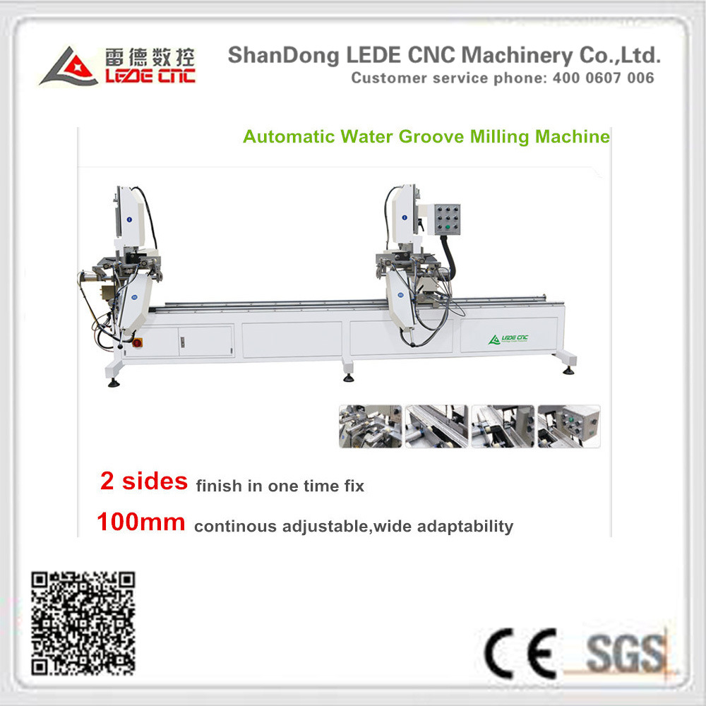 UPVC Windows Machine Automatic Water Groove Milling Machine
