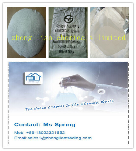 Sodium Sulphate Anhydrous 99% (Glauber Salt) for Africa