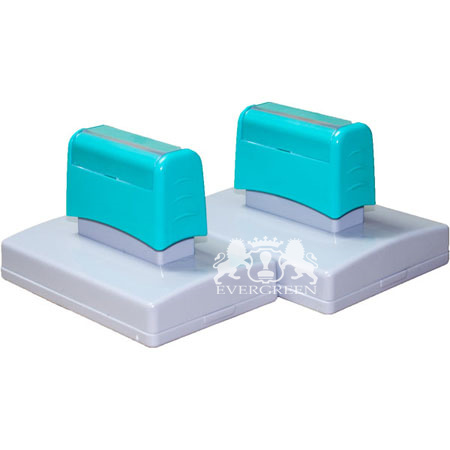 Dual Foam Pre Inked Stamp 66*130mm