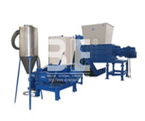 Four Shaft Shredder/Hazardous Waste Recycling Machine/Medical Waste Shredder