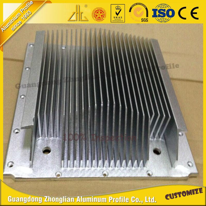 Aluminum Extrusions Aluminum Heat Sink Aluminium Radiator