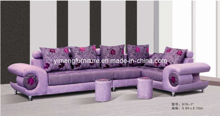 China Living Room Furniture Corner Sofa Leather Sofa B 910 1 China Fabri