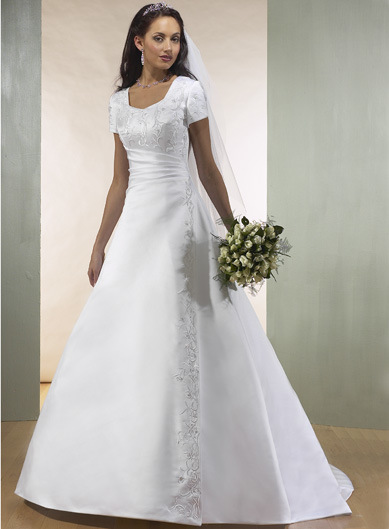 2010 New Wedding Dress With Sleeves Sleeve048
