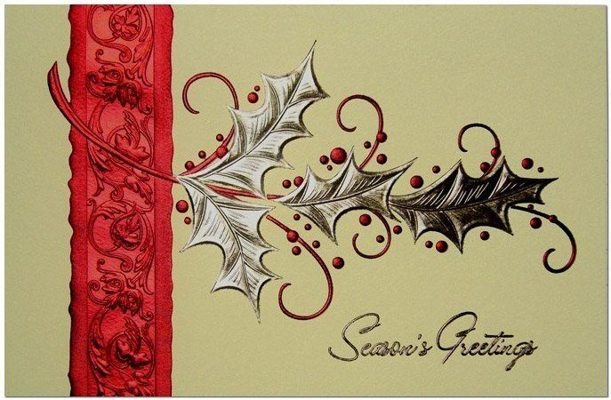 China Season's Greeting Cards China Holiday Cards, Greeting Cards