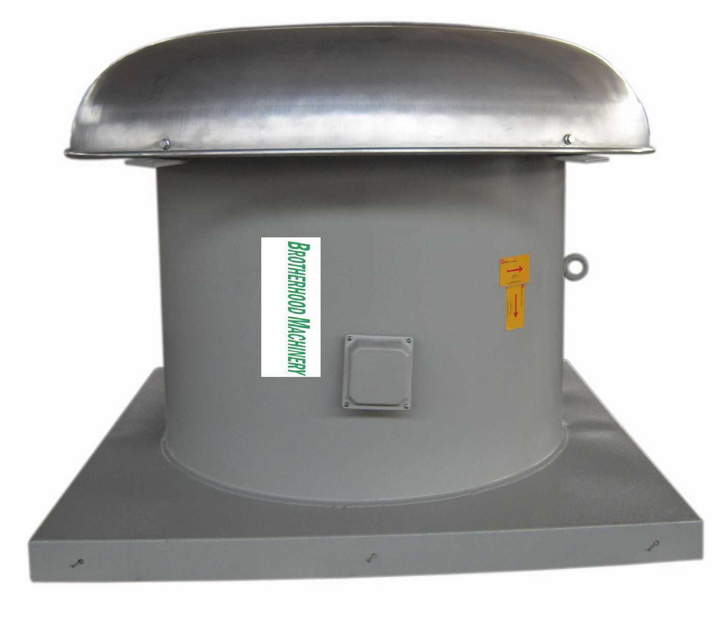 Roof Exhaust Fans : China roof mounted axial exhaust fans