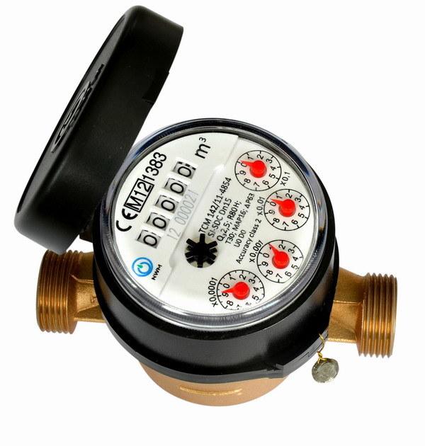 Single Jet Water Meter (D3-5+4)