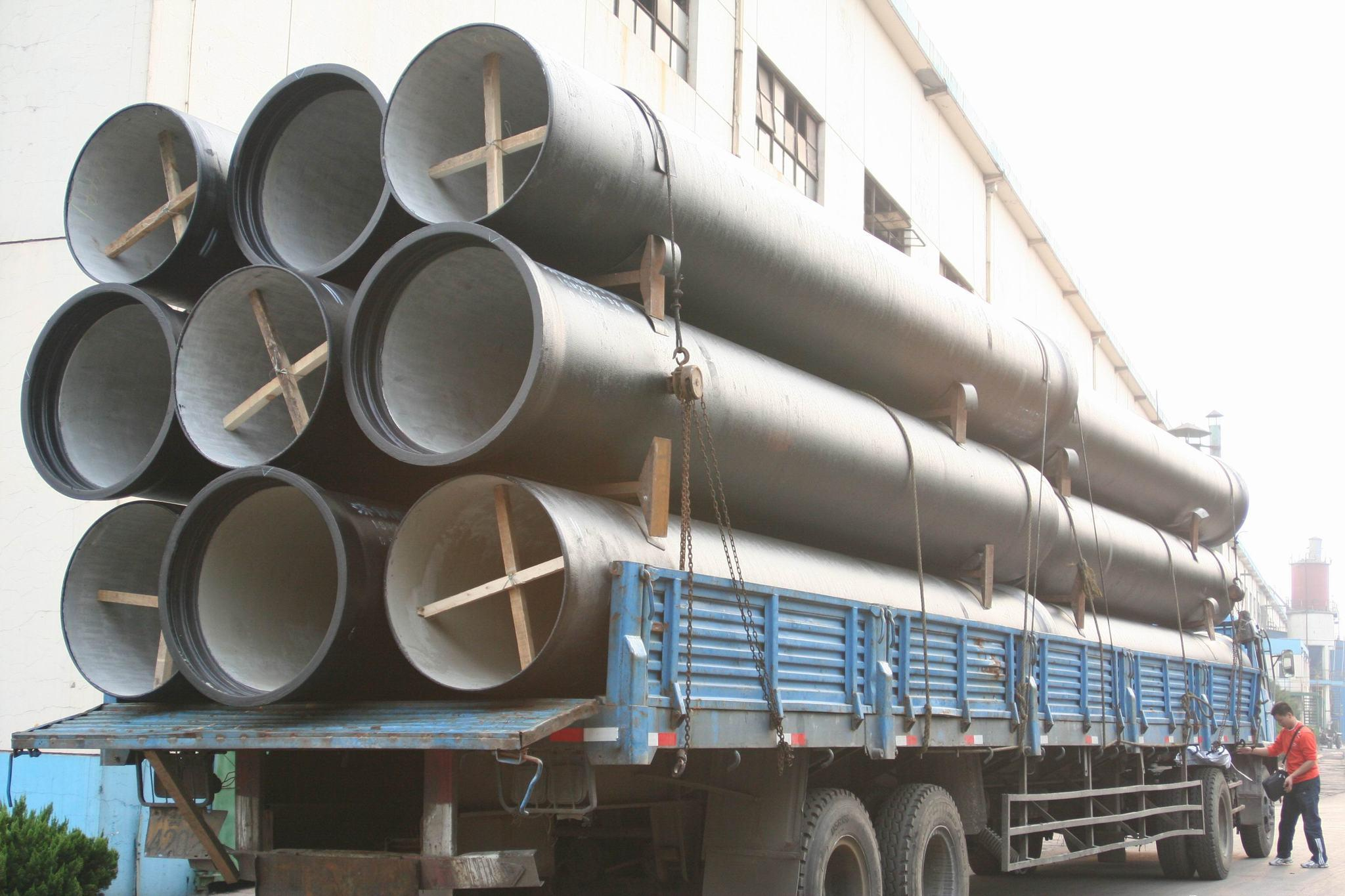 Ductile iron pipe china dci