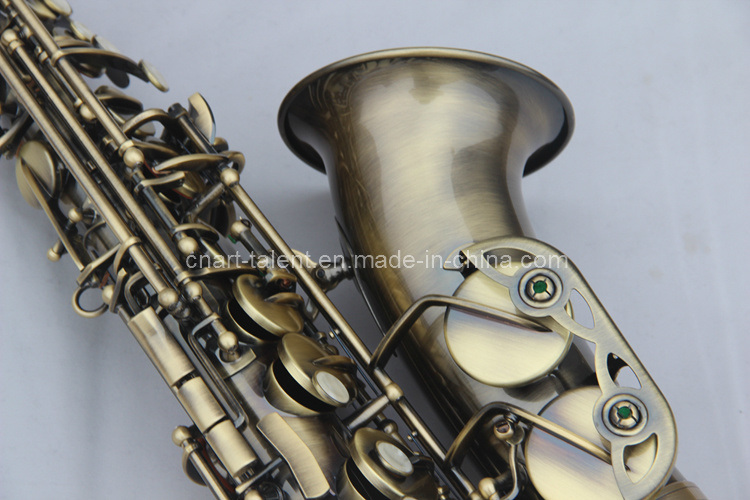 Antique Gold Alto Saxophone (AS-130AB)