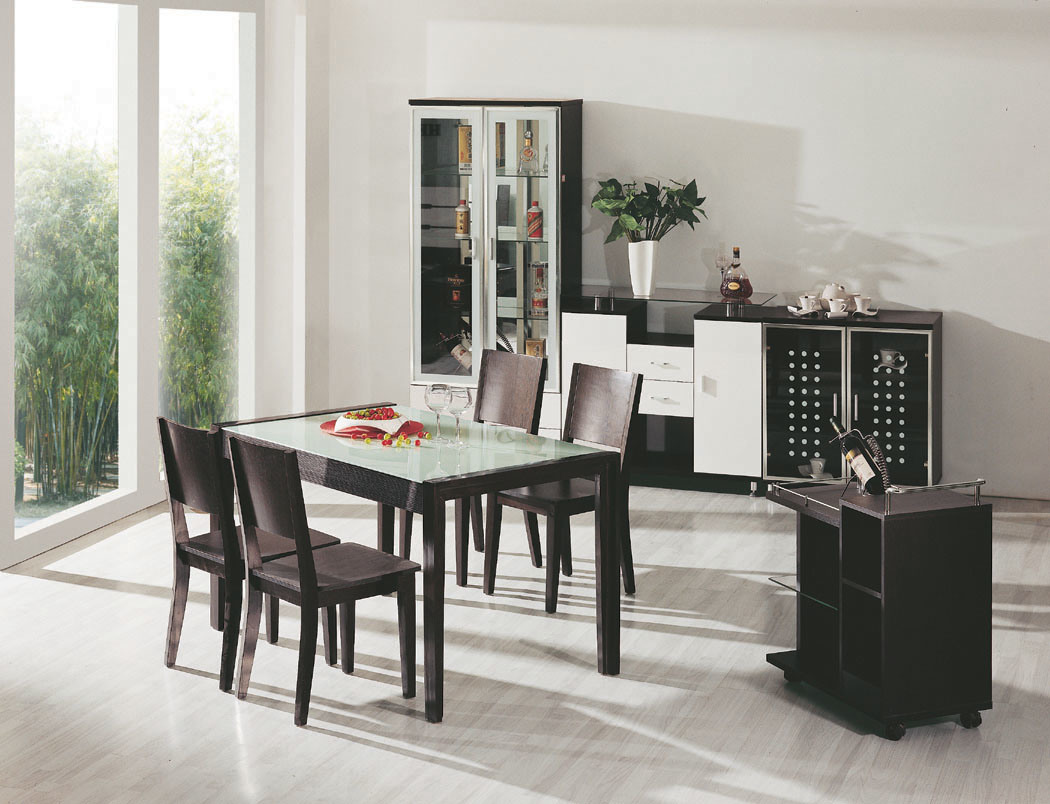 Black And White Dining Room 8801B China Dining Room Dining Table