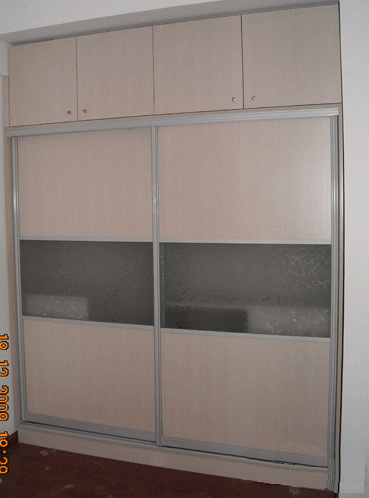 Bedroom Closets / Bedroom Wardrobes - China Sliding Doo