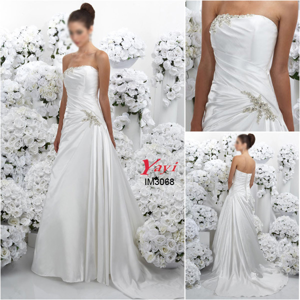 China bridal wedding gown evening dress im3068 china for Evening gown as wedding dress