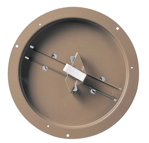 Round Duct Ring with Butterfly Damper