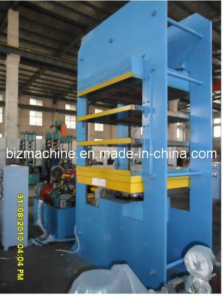hydraulic platen vulcanizer press