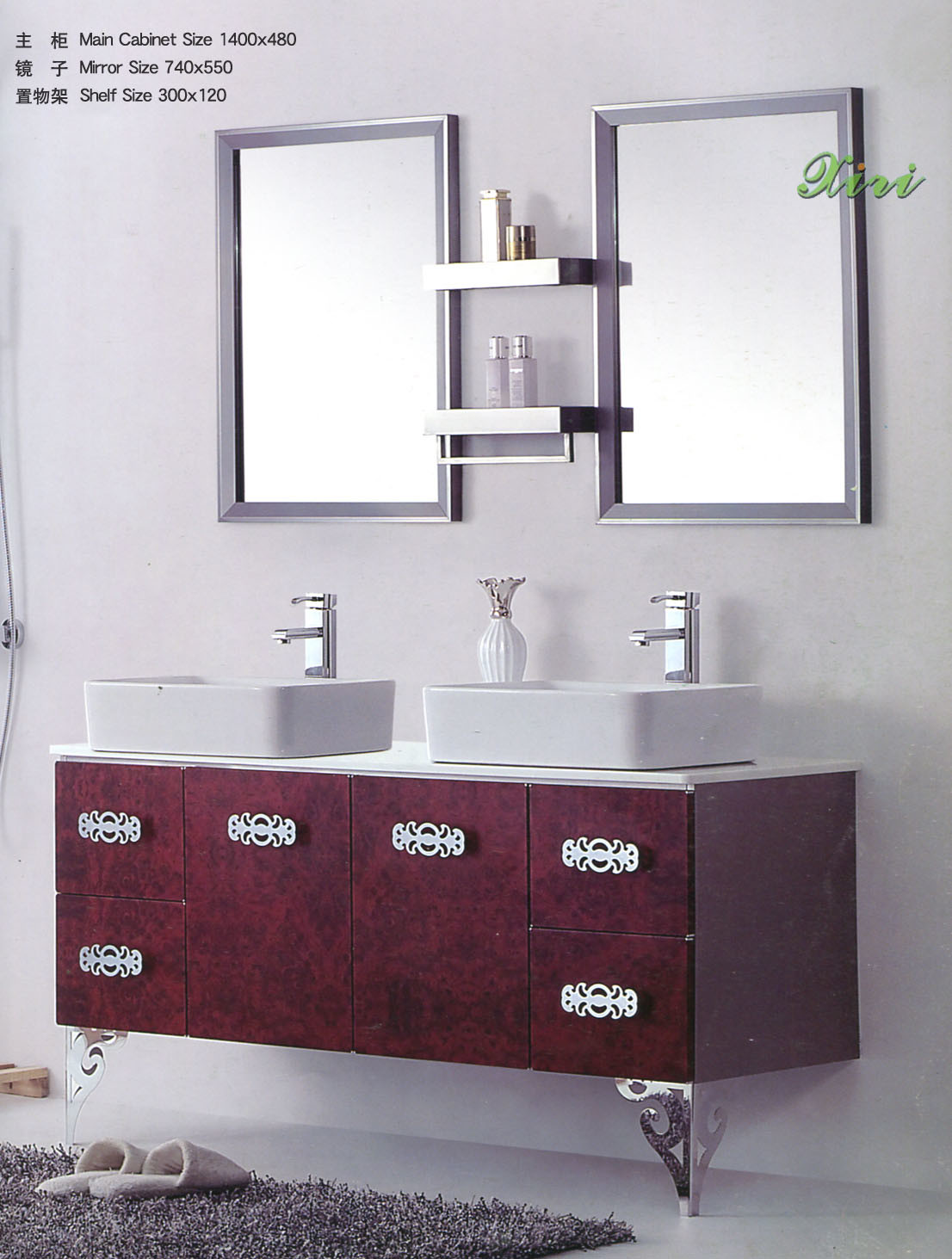 Fantastic  Vanity 60 Inch Bathroom Modern With Bath Accessories Bathroom Mirror