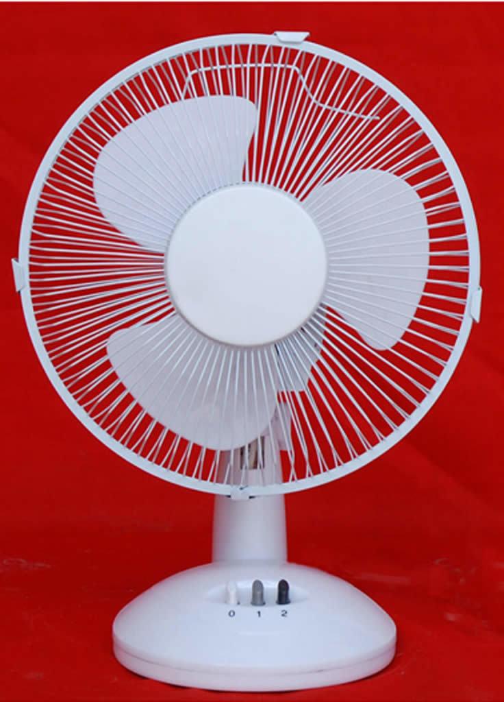 Electrical Table Fan : Desk fan table electric plastic fanner hgt