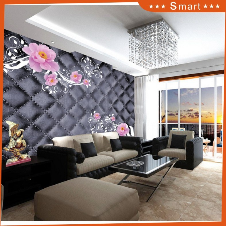 Leather Pattern Design 3D Stereoscopic Oil Painting for Home Decoration