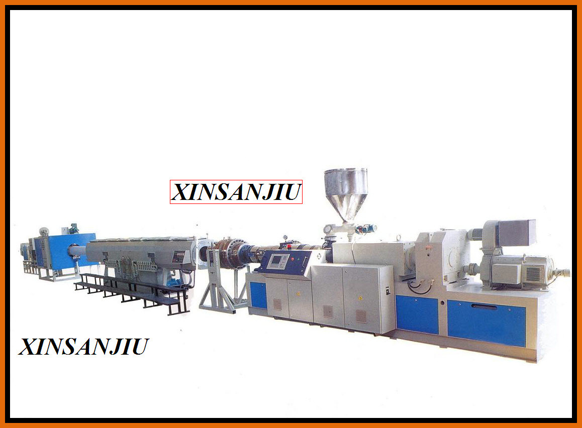 PVC Pipe Extrusion Line Plastic Pipe Extrusion Machine (SXSJ65)