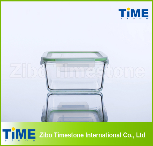 High Borosilicate Glass Food Storage Box