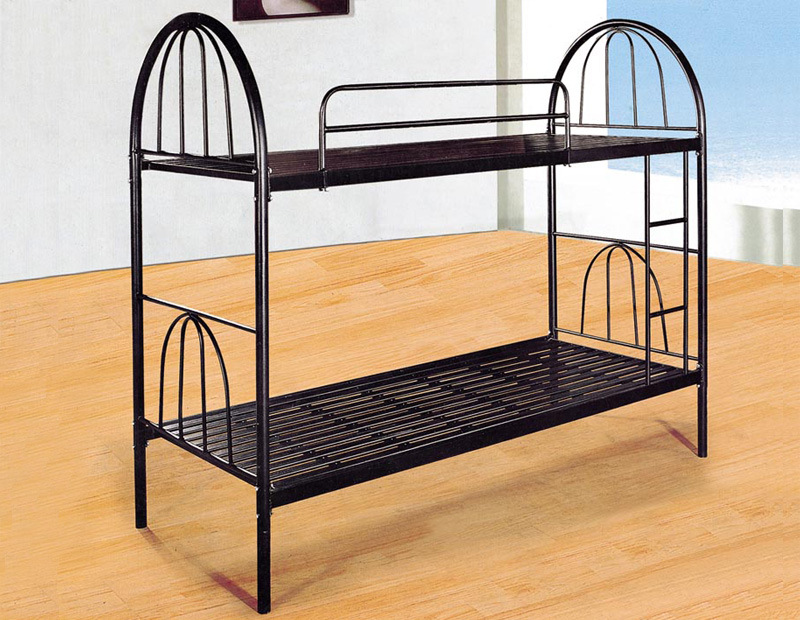 Metal Loft Bed : Metal Bunk Bed (W-19) - China Metal Bed, Iron Bed