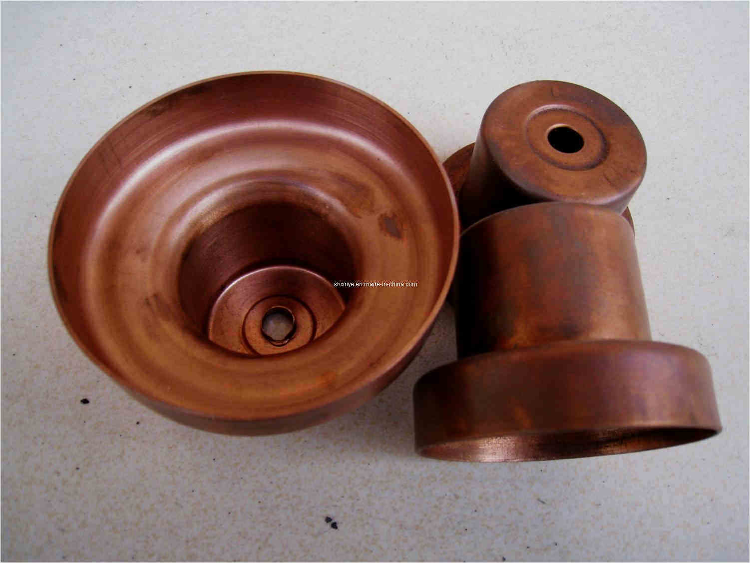 Copper Electrical Components : Pressed copper parts for electric apparatus photos pictures
