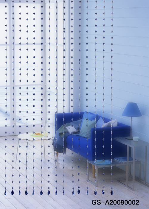 How to Make a Beaded Room Divider | Home & Garden Ideas