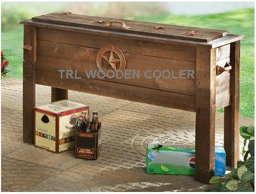 china outdoor furniture wooden patio cooler star scene wd 1203