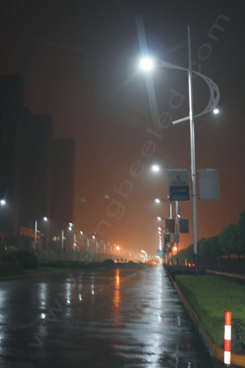 led  road