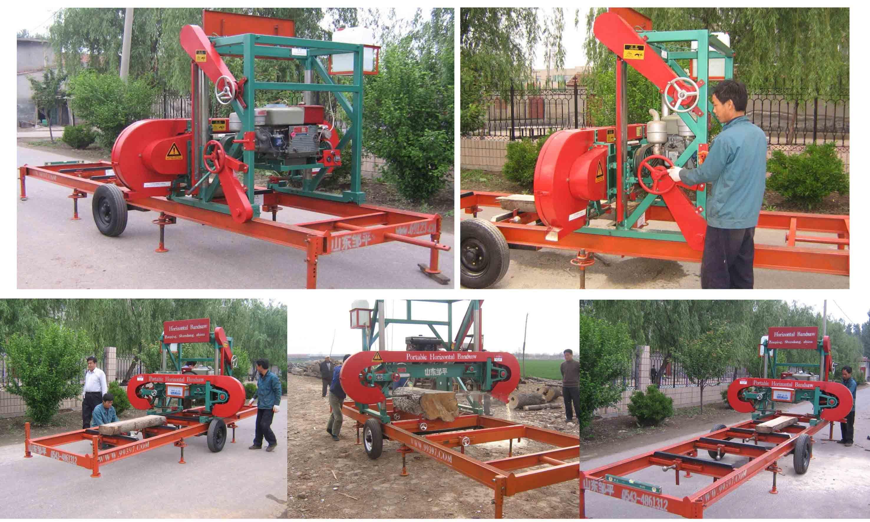 WoodMizer USA Portable Sawmills and Wood Processing