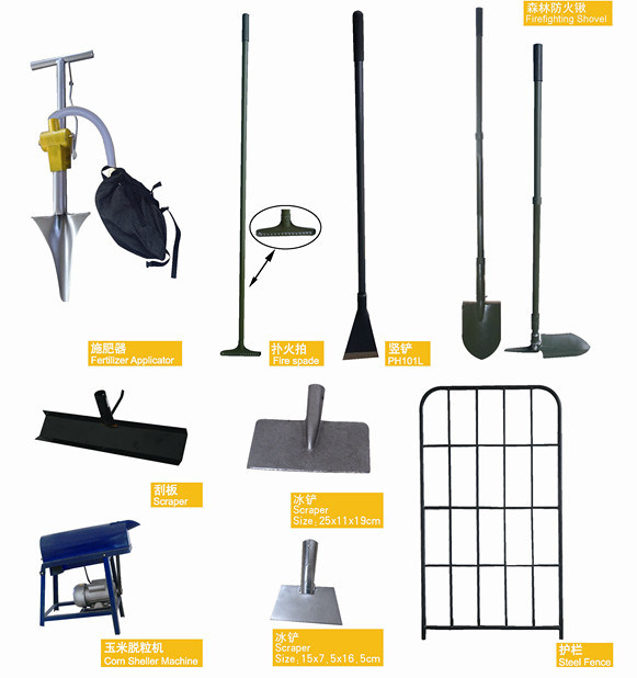 China level head rake china rake iron rake for Kinds of gardening tools