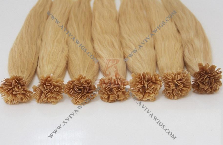 Italian Keratin Pre- Bonded Flat Tip Hair Extension