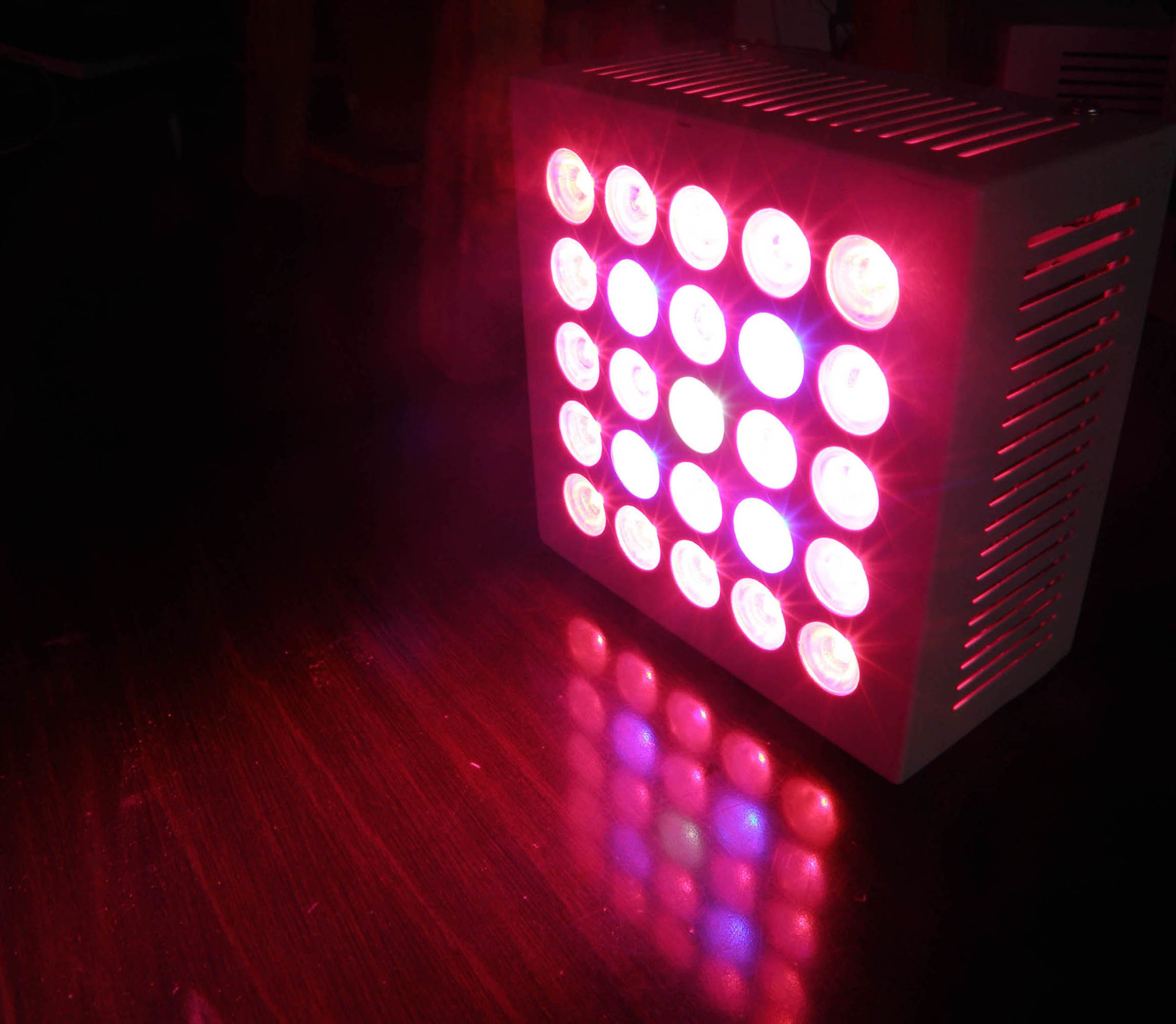 25w indoor led plant grow light hydro farm grow light florescent