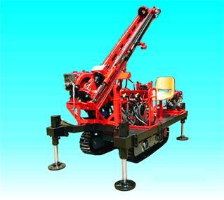 Mgj-50L Crawler Type Anchor Drilling Rig with Diesel, Drilling Machine, Rock Drilling Machine