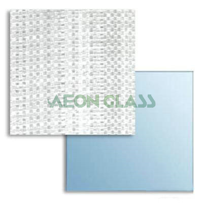 3mm, 4mm Vinyl Film Back, Cat II Silver / Aluminum Mirror