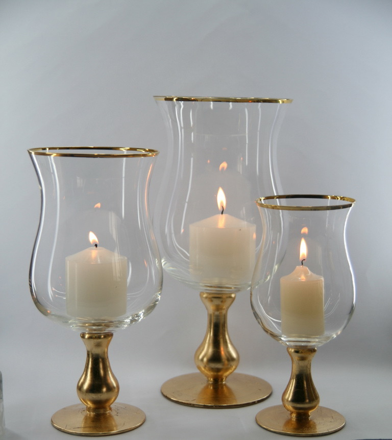 China clear glass candle holder by4036 china candle for How to make glass candle holders