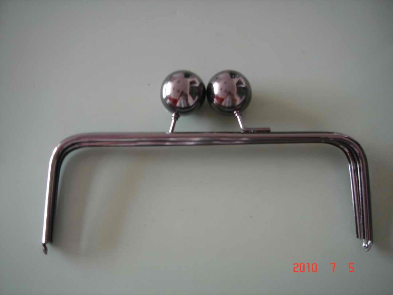 Silver Purse Metal Frame (JW812) - China Metal Purse Frame,Metal