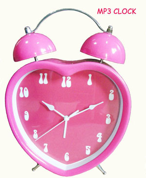MP3 Alarm Clock (MP3-70)