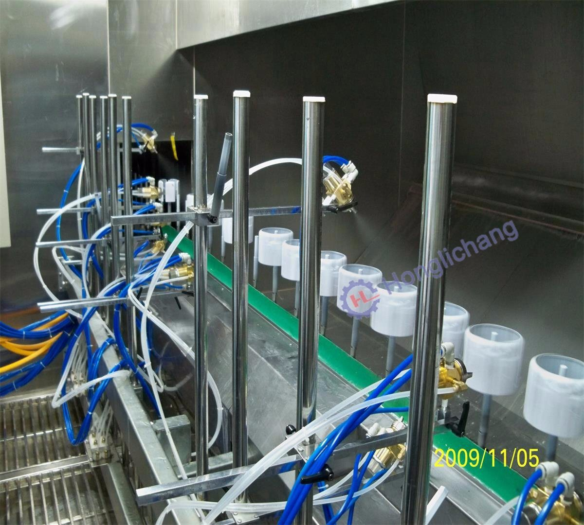 Automatic Spray Paint/Painting Machine in UV Spray Coating Line
