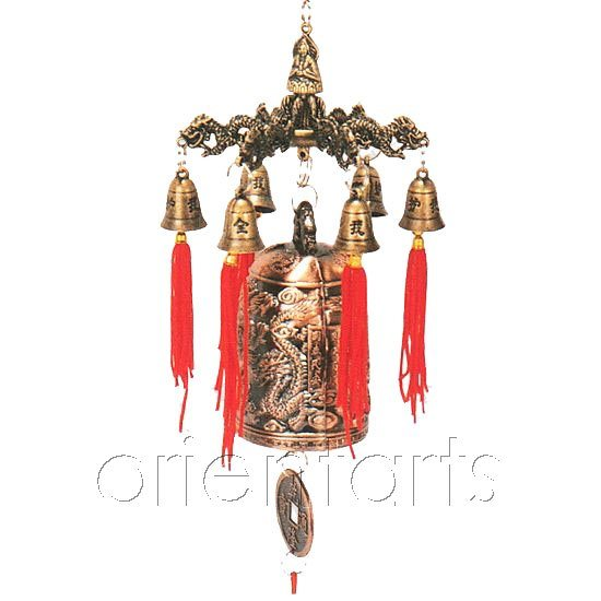 china feng shui fortune bell china fortune bell wind chime. Black Bedroom Furniture Sets. Home Design Ideas