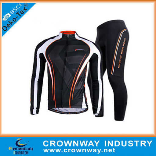 Sublimation Printing Cycling Wear, Cycling Suit, Outdoor Sportswear