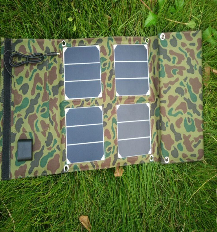 40W/18V Hight Efficient Solar Charger Bag for Charger Phone and Cook