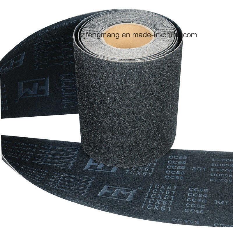 Waterproof X-Wt Silicon Carbide Abrasive Cloth Tcx61