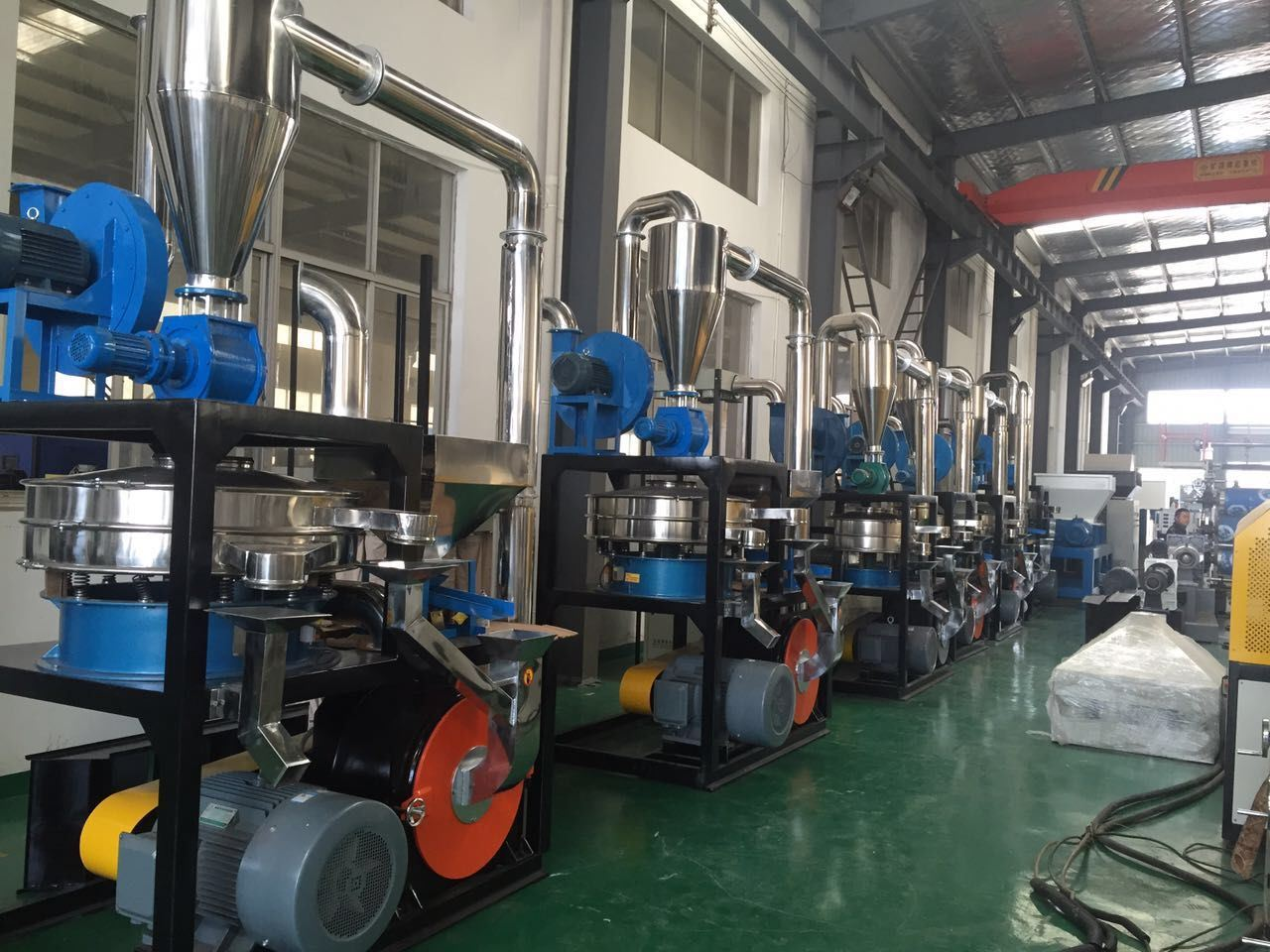 Waste Recycling LDPE Pulverizer Machine