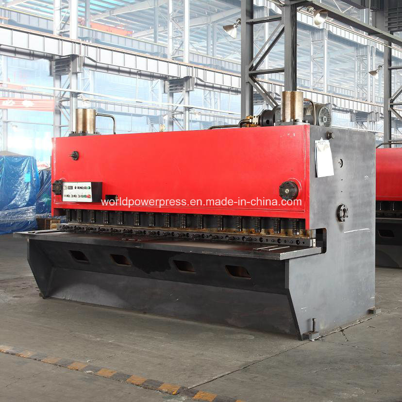 Guillotine Type Hydraulic Metal Shearing Cutting Machine
