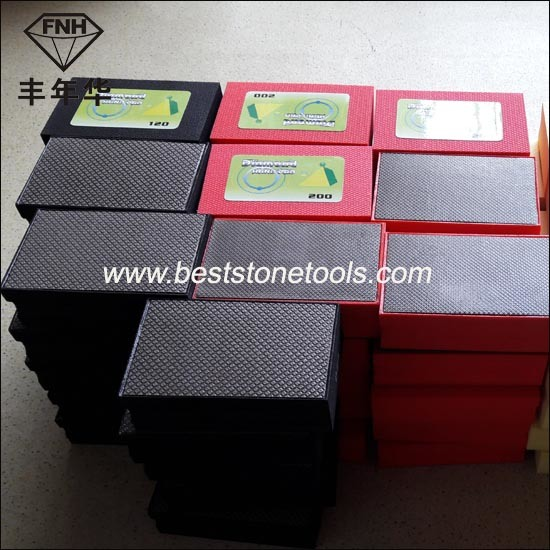 HD-1 Electroplated Diamond Hand Polishing Pad (90X55mm)